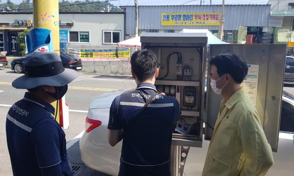 크기변환_사본 -김천시, 가로등 전기 안전점검 실시-도로철도과(사진1).jpg